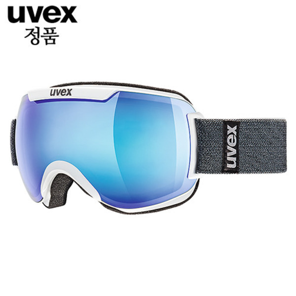 우벡스고글 1617 UVEX downhill 2000 FM ASIAN FIT white 스키고글