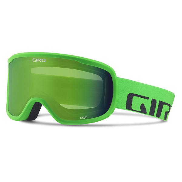 지로스키고글 1718 GIRO CRUZ BRIGHT GREEN WORDMARK