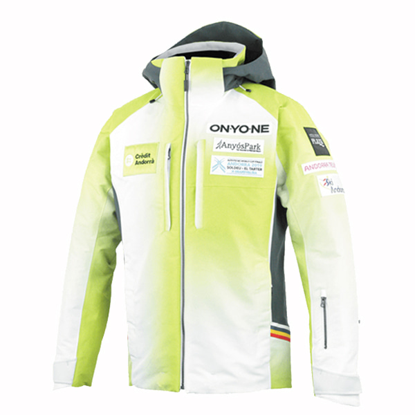 1920 온요네 스키복 ANDORRA JACKET LIME