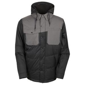 686 보드복 1516 686 AUTHENTIC Woodland Insulated Jacket-Black Herringbone 686보드자켓