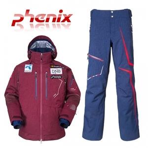 피닉스 스키복 1516 PHENIX NORWAY TEAM Jacket BO+Norway Team Full Zipped Pants NV 노르웨이 스키팀복