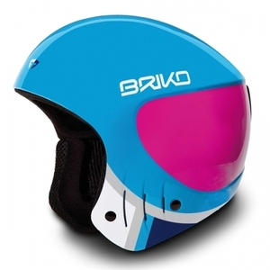 브리코 스키헬멧 BRIKO VESUVIO LIGHT BLUE PINK EXPLOSION