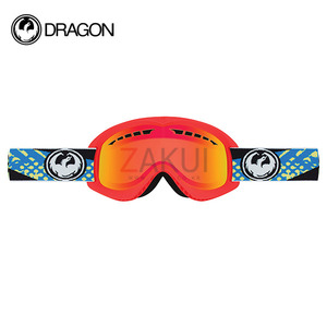 드래곤 DX 고글 1617 DRAGON DX FUTURE YELLOW RED ION