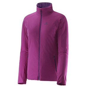 살로몬 스키복 SALOMON DRIFTER JACKET W ASTER PURPLE