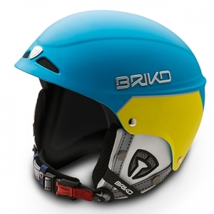 스키헬멧 BRIKO SNOWY-MATT LIGHT BLUE MATT YELLOW