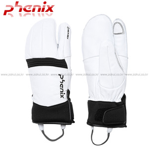 스키장갑 1617 PHENIX DELTA TRI-FINGER LEATHER GLOVE-WT 삼지장갑