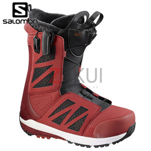 살로몬 스노우보드 부츠 1617 SALOMON HI FI RED BLACK/QUICK/WH