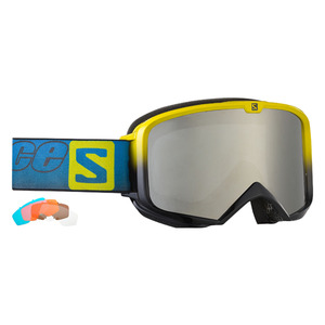 살로몬 스키고글 SALOMON X RACE LAB 5 Lenses Allweather