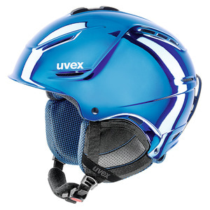 스키헬멧 1718 uvex p1us pro chrome LTD BLUE