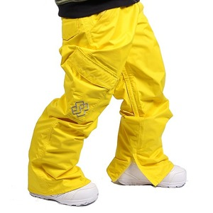 남자보드복바지 SPECIALBLEND Proof Pants Hellow Yellow