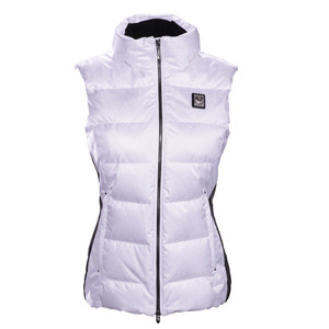 데상트 스키복 1718 DESCENTE D8-9703 ISLA WOMEN DOWN VEST SPW/BK