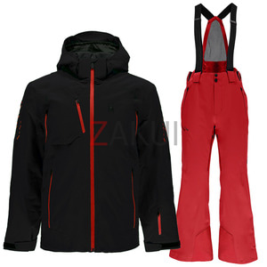 스파이더 스키복 1718 SPYDER PINNACLE (001)+BORMIO (600)