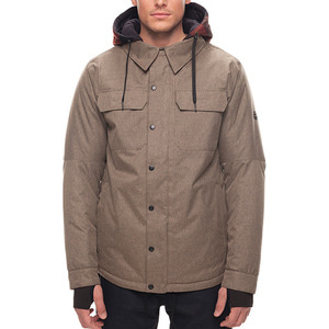 686보드복 1718 686 Woodland Insulated Jacket Khaki Melange