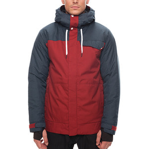 686보드복 1718 686 League Insulated Jacket Rusty Red Color Block