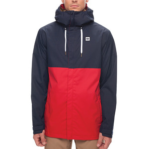 686보드복 1718 686 Foundation Jacket Navy Color Block