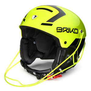 아동 및 여성헬멧 BRIKO SLALOM YELLOW FLUO BLACK