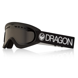 드래곤고글 1718 DRAGON DX BLACK DARK SMOKE