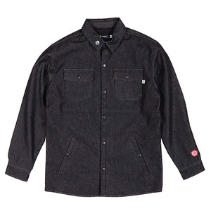 캔디그라인드 보드복 1718 CANDYGRIND WORKSHIRT BLACK DENIM