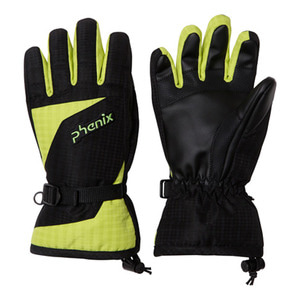 아동스키장갑 1718 PHENIX Demonstration Boy's Gloves BK