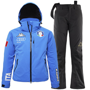 여성 카파스키복 1718 ITALY SKI TEAM PADDING SET BL
