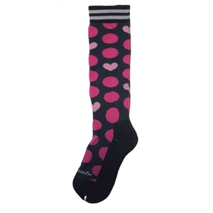 아동스키양말 1819 PHENIX Dot Heart Girl Socks NV