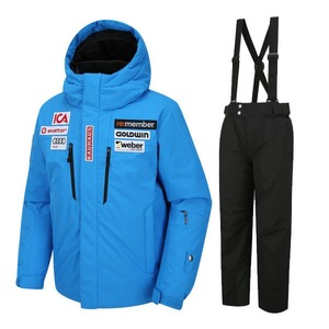 골드윈 아동 스키복 1718 GOLDWIN JR SKI DOWN JKT BLU+ALPINE PANT