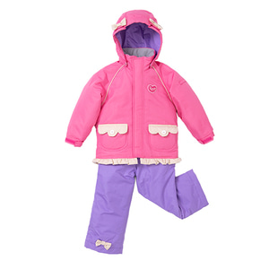 어린이 스키복 1819 TODDLER SUIT PINK LILAC