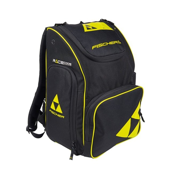 피셔 1920 가방 BACKPACK RACE 70L BLACK/YELLOW