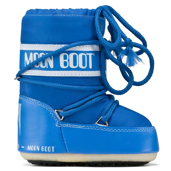 아동 문부츠 MOON BOOT MINI NYLON AZURE