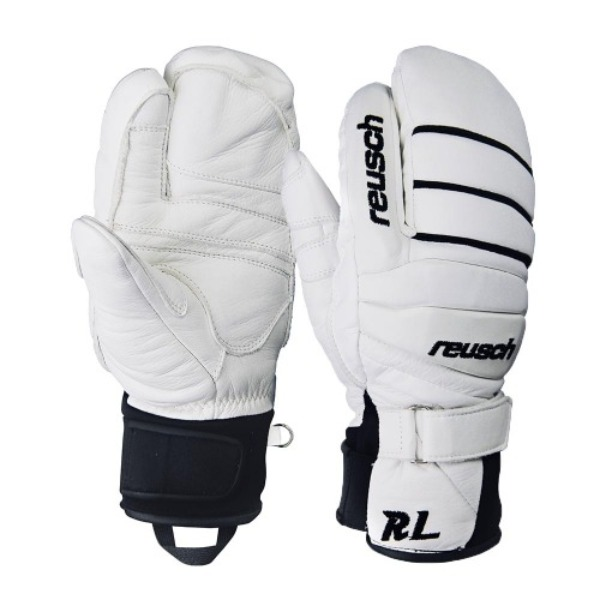 스키장갑 1920 REUSCH RELATION LOBSTER WHITE BLACK