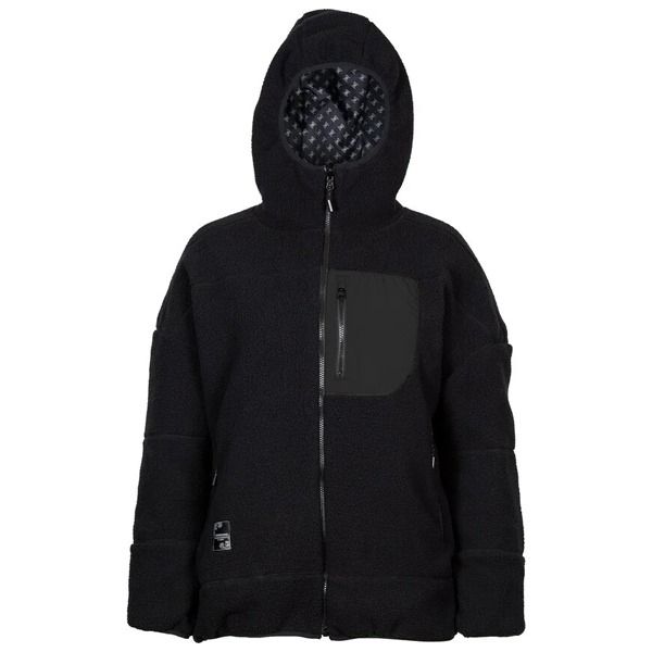 2021 L1 여자 보드복 자켓 GENESEE REVERSIBLE BLACK