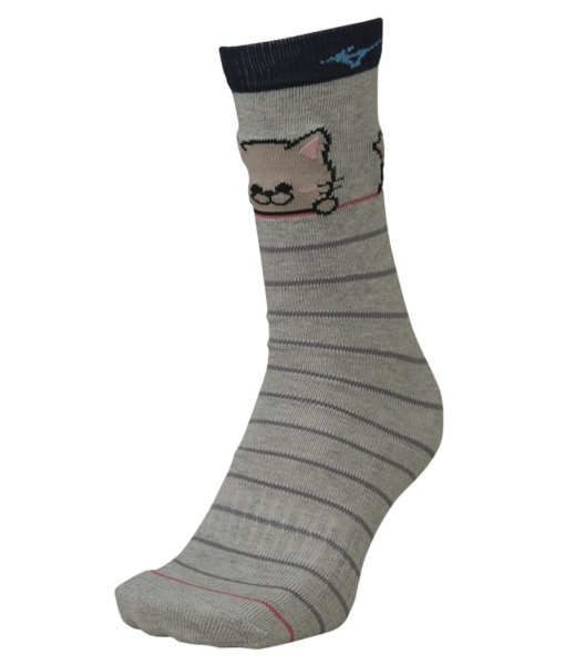 2021 미즈노 아동스키양말 BREATH THERMO KIDS ANIMAL SOCKS 05