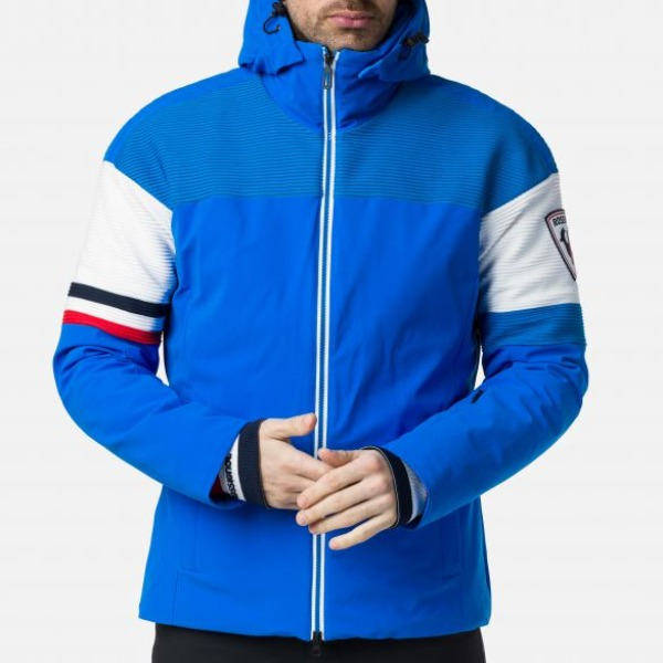 로시놀 남자스키복 2021 SUPERCORDE ARM LOGO JKT/PANT ROYAL BLUE (749)