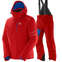 살로몬 스키복 SALOMON ICESTORM JKT+CHILL OUT BIB PNT (MATADOR-X)