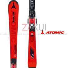 아토믹 레드스터 스키 1718 ATOMIC REDSTER S9 FIS + X 16 VAR Red/Black