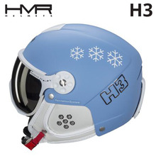 햄머헬멧 1718 HMR H3 134 LIGHT BLUE/SNOWFLAKE