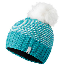 아토믹 비니 W ALPS FLUFFY POM BEANIE BLUE BIRD