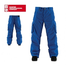 보드복 BONFIRE RADIANT PANT TRUE BLUE