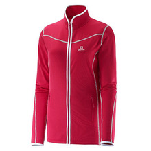 살로몬 스키복 SALOMON ATLANTIS FULL ZIP W LOTUS PINK