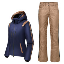 데상트 여자스키복 1718 DESCENTE D8-9601 DNT/CBRW JACKET + D8-9106 PANT