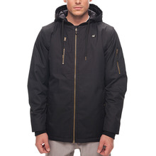 686보드복 1718 686 Riot Insulated Jacket Black Oxford