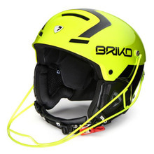 스키헬멧 브리코헬멧 1718 BRIKO SLALOM YELLOW FLUO BLACK