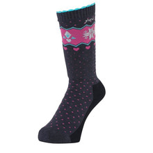 아동 스키양말 1718 PHENIX Snow Crystal Girl's Socks NV