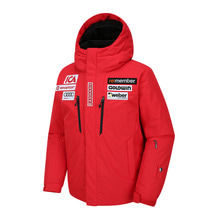 골드윈 아동 스키복 1718 GOLDWIN JUNIOR SKI DOWN JACKET RED