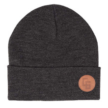 캔디그라인드 비니 EMBASSY BEANIE D HEATHER GREY