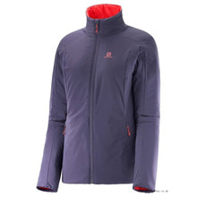 살로몬 스키복 SALOMON DRIFTER JACKET W NIGHTSHADE