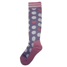 아동스키양말 1819 PHENIX Dot Heart Girl Socks PK