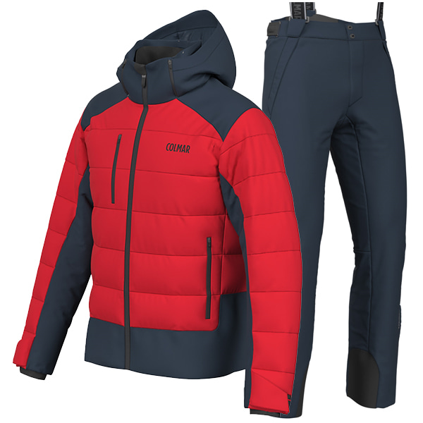 1920 콜마 스키복 COLMAR 1052 CHAMONIX SET RED