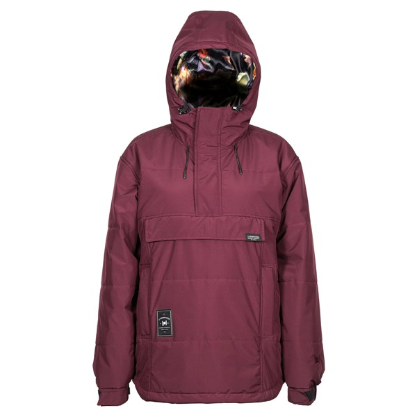 2021 L1 여자 보드복 SNOWBLIND JACKET WINE