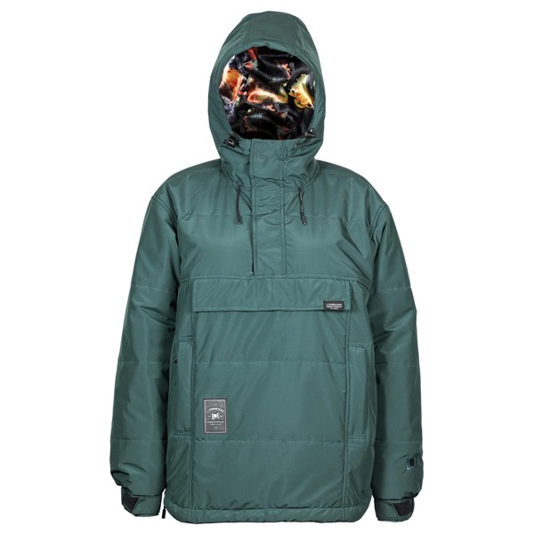 2021 L1 여자 보드복 SNOWBLIND JACKET EMERALD